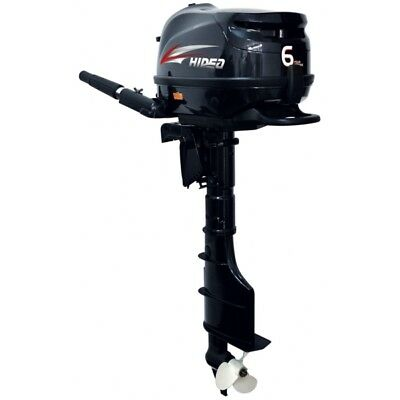 HIDEA 6 HP Outboard Engine, Short Shaft  Part# HDF6HS