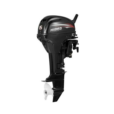 HIDEA 15 HP Outboard Engine, Long Shaft  Part# HDF15HL