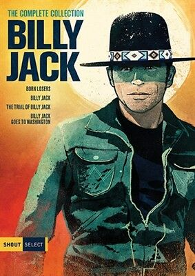 BILLY JACK THE COMPLETE COLLECTION New DVD All 4 Films Losers Trial Washington