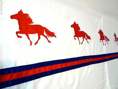 Icelandic Horse Pony Shower Curtain  -Color choice for you!