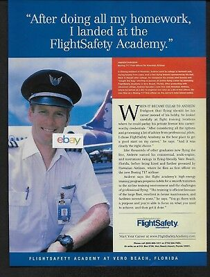 Hawaiian Airlines Boeing 717 F/o Andrew Dudgeon Flight Safety Training 2002 Ad