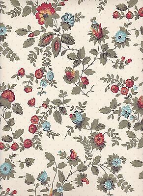 $4 SAMPLE: Thomas Strahan Historic mid 19th Century REPRODUCTION WALLPAPER #1