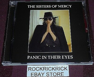 The Sisters Of Mercy - Panic In Their Eyes -12 Track Rare Cd- Very Good 1-4