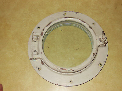 Antique bronze porthole,  porthole nautical  Wilcox Crittenden WC #6 porthole