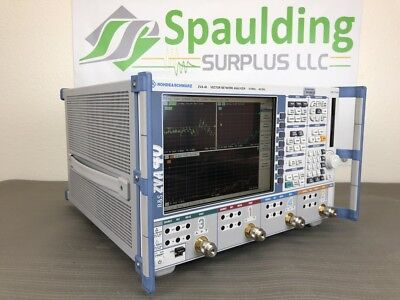 Rohde & Schwarz ZVA40 10MHz to 40GHz Vector Network Analyzer w/ MFG Calibration!