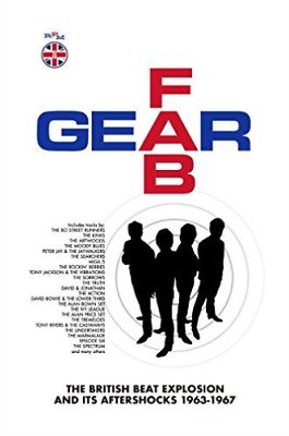 Various Artists-Fab Gear ~ The British Beat Ex  CD NEW