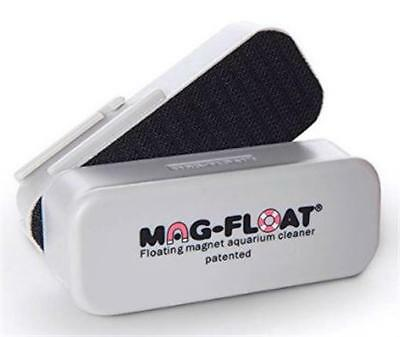 Mag-Float 125 Medium Glass Aquarium Magnetic Algae Cleaner Magfloat Scrubber