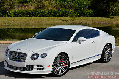 2015 Bentley Continental Gt Speed Rare Carbon Fiber Interior 272k