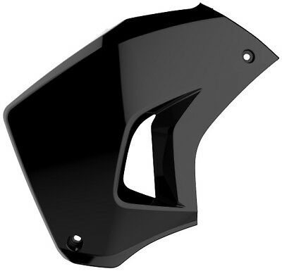 Polisport Black Left Radiator Shroud Scoop For Kawasaki KLR 650 08-18 8420100001