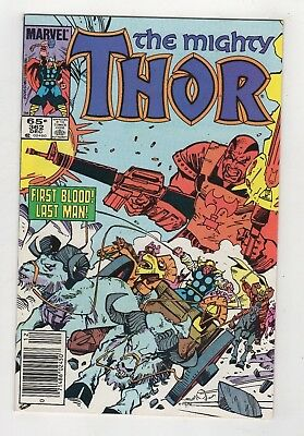 Marvel Comics Thor #362 Copper Age