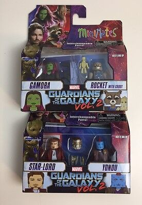 Marvel Minimates Series 71 Guardians of the Galaxy Vol 2 Rocket Raccoon & Groot
