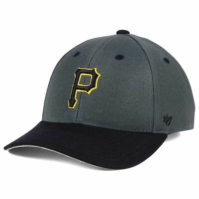 pretty nice a1d94 019a3 Pittsburgh Pirates  47 MLB Kid s 2-Tone MVP Cap Hat Adjustable Baseball  Youth PA