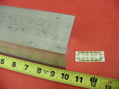 "2-3/4"" X 2-3/4"" ALUMINUM 6061 SQUARE SOLID BAR 10"" long T6511 Flat Mill Stock"
