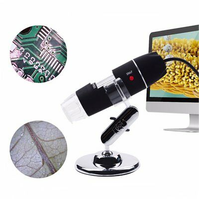 Qumox 2MP 50-500X 8LED Digital USB Microscopio Endoscope Magnifier Video Camera