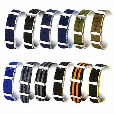 Nylon Wrist Watch Band Strap Replacement Military Army Sports Bracelet Wristband