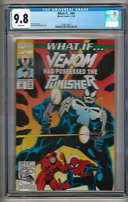 "What If... #44 (1992) CGC 9.8 White Pages  Busiek - McDonnell  ""Venom"""