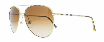 78d433a18bc4 BURBERRY SUNGLASSES BE3072 114513 Burberry Gold 57MM -  126.00 ...
