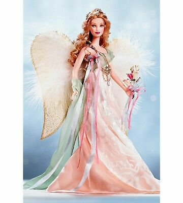 NRFB Gorgeous GOLDEN ANGEL Barbie Collectors Collectible Designer Doll