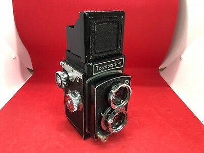 Vintage Toyocaflex TLR Camera With Tri-Lausar Lenses