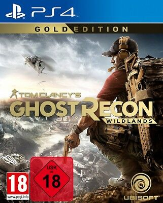Tom Clancy's Ghost Recon Wildlands Gold Edition - PS4 Playstation 4 - NEU OVP