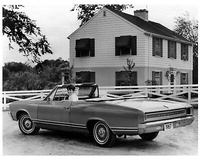 1967 Beaumont Canada Convertible Factory Photo cb0915