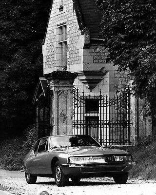 1971 ? Citroen SM Factory Photo cb0890