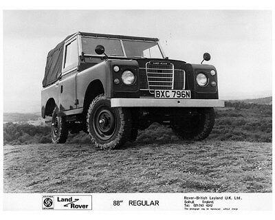 1973 ? Land Rover 88 Regular Factory Photo cb0880