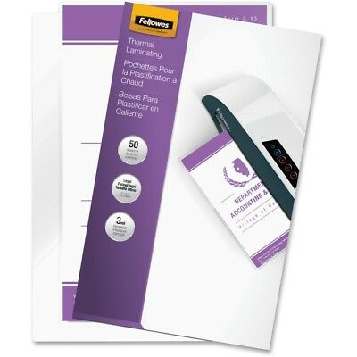 Fellowes, Inc. 52226 Laminating Pouches Legal 3Mil 50Pk,dds Must Be Ordered I...