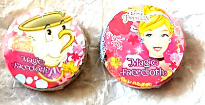 Girls Disney Princess Beauty and the Beast (Chip )Magic Flannel / Face Cloth New
