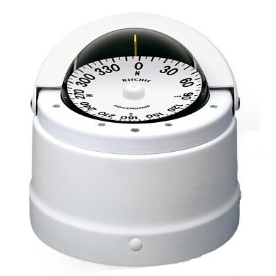 E.s. Ritchie & Sons Dnw-200 Ritchie Navigator Compass White