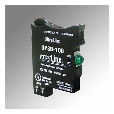 Itw Linx Up3B-100 Ultralinx 66 Block 100V Clamp 350Ma Fuse
