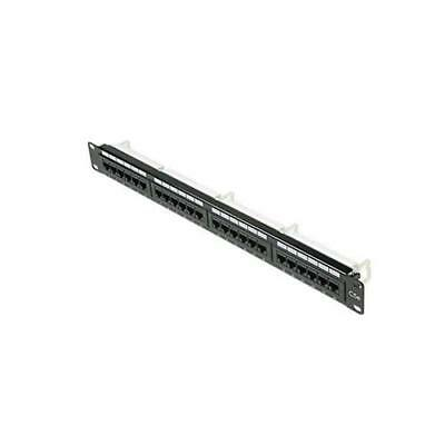 Steren Electronics Intl 310-324 Cat5E 24-Port Loaded Patch Panel