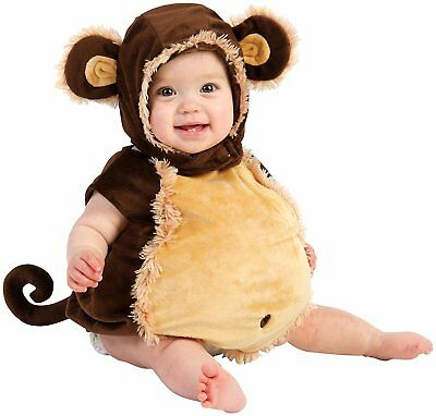 Monkey Child Infant, Baby, Toddler Dress Up Halloween Costume Size 6-12 months