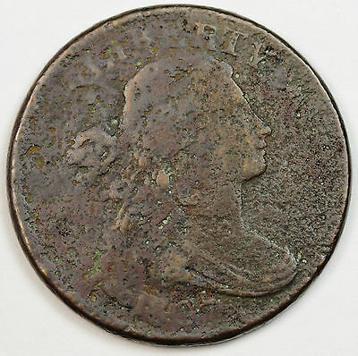 1807 Large Cent.  45 degree Rotated Reverse.  Fine Detail  77433