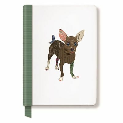 FRINGE STUDIO Chihuahua Hardcover Ribbon Journal, 6 x 8.25 Inches, 160 Lined