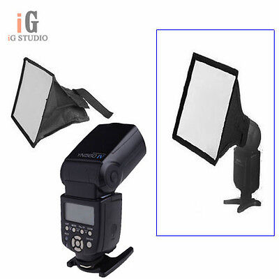 NEW Yongnuo YN-560 IV Flash Speedlite + Camera Universal Diffuser Mini Softbox