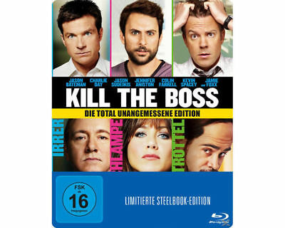 Kill The Boss--Blu-Ray--Steelbook-NEU/OVP