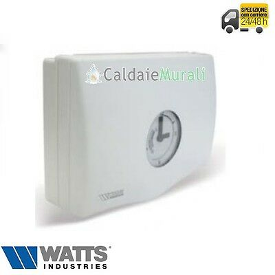 Watts Industries Thermostat Programmable Mod. Battery Electronic P03869