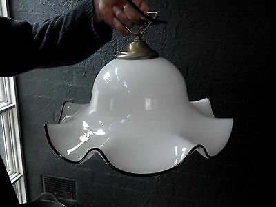 Stunning VENICE GLASS Ceiling Light / Pendant Light Hand made in ITALY