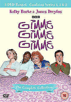 Gimme Gimme Gimme Series 1 to 3 Complete Collection DVD NEW DVD (8244780)