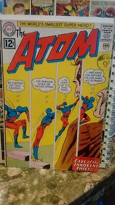 The Atom #4 5 6 8 18 1962 1963 Dc Comics Doctor Light