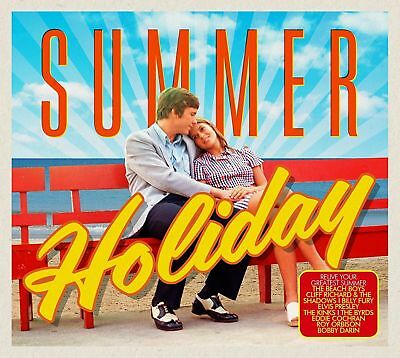 SUMMER HOLIDAY ~ NEW 2CD GREATEST HITS 50's,60's,70's Monkees, Kinks, Elvis Etc