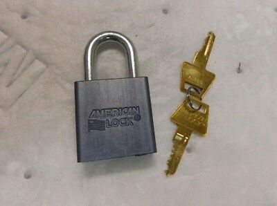 "American Lock Keyed Alike Padlock w Weather Cover 23427 1-1/8"" A10KACSHCOV"