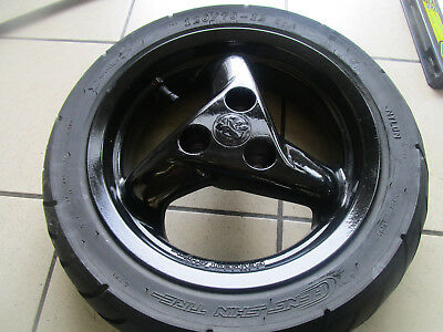a16. Peugeot Speedfight 2 LC 50 Rim Front 120/70-12 Disc Brake Tyres 4,65
