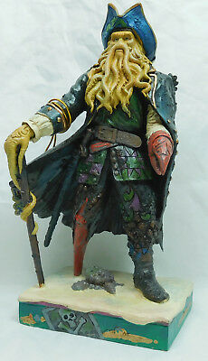 Disney Enesco Jim Shore Pirates of the Caribbean Davy Jones Statue 4056759