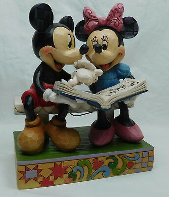 Disney Enesco Jim Shore Figur 4037500 Mickey und Minnie 85 Jahre Edition