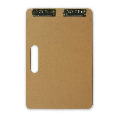 Jack Richeson 400410 Sketch / Clipboard 5Mm Masonite W/low Profile Clip 11X17