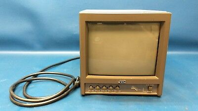 """JVC TM-A9U Color Video Monitor 9"""" for Broadcast Editing Production Security NR"""