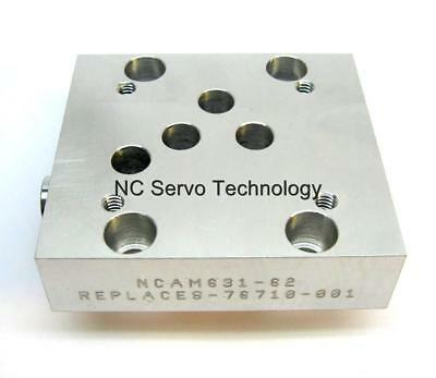 NC Servo NCAM631-62 Adapter Manifold for 631-62 Moog. Replaces 76710-001 New