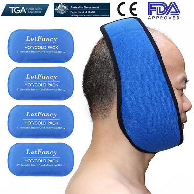 Reusable Hot and Cold Heat Ice Gel Pack for TMJ First Aid Sport Muscle Back pain